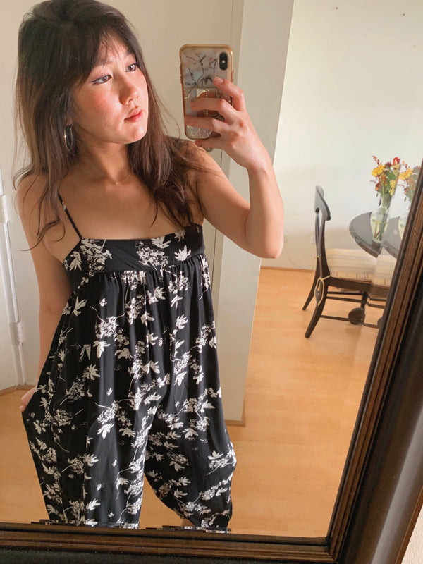 Floral Slouchy Jumpsuit (BACK IN STOCK!)