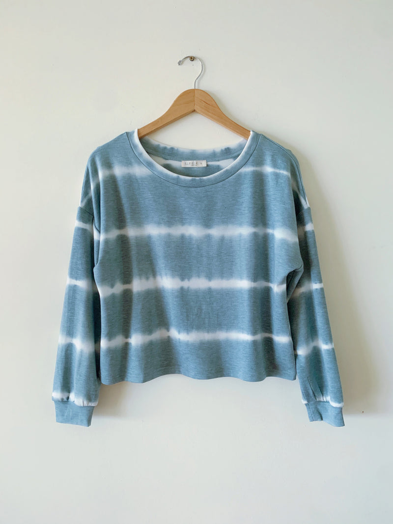 French Terry Tie Dye Pullover (2 colors)
