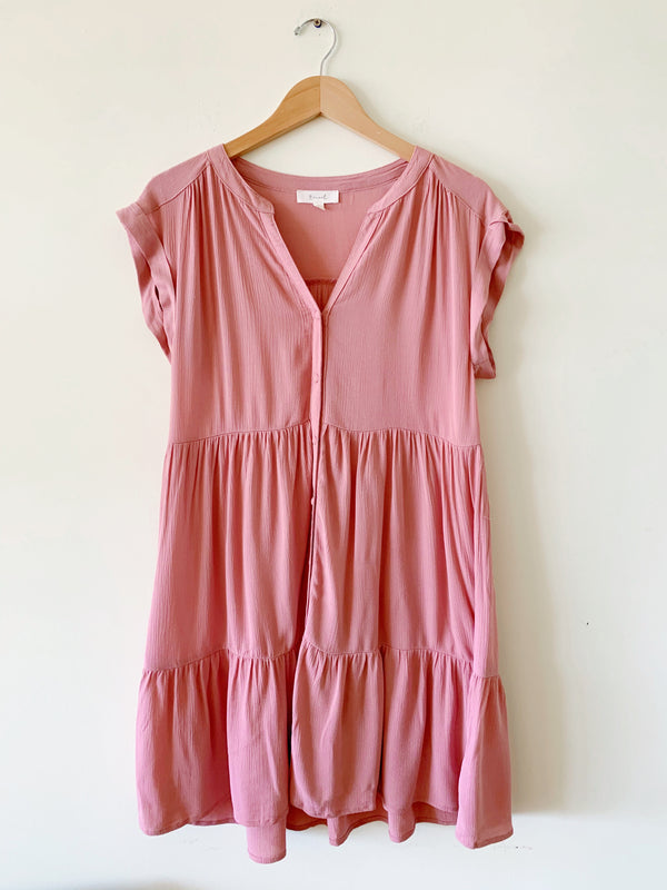 Button Up Babydoll Dress (3 colors)