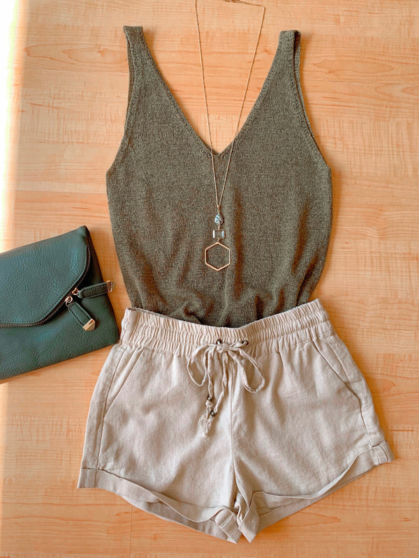 Knit Tank Top (4 colors)
