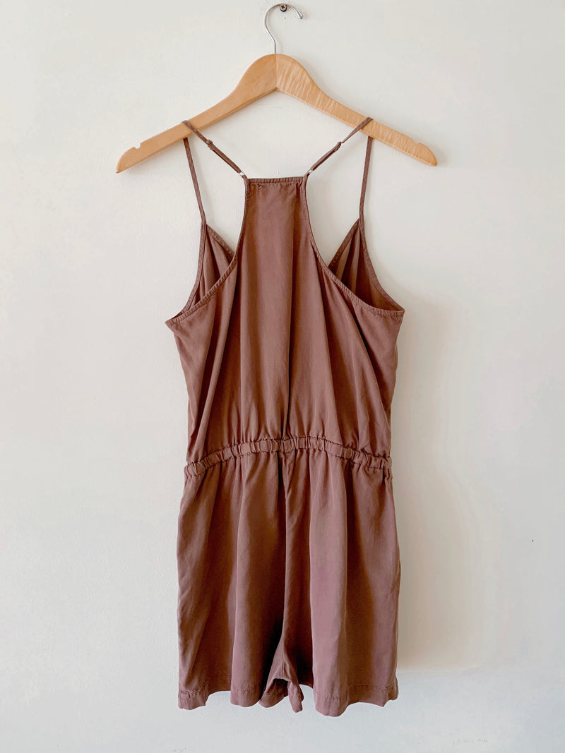 Tencel Racerback Romper (4 colors)