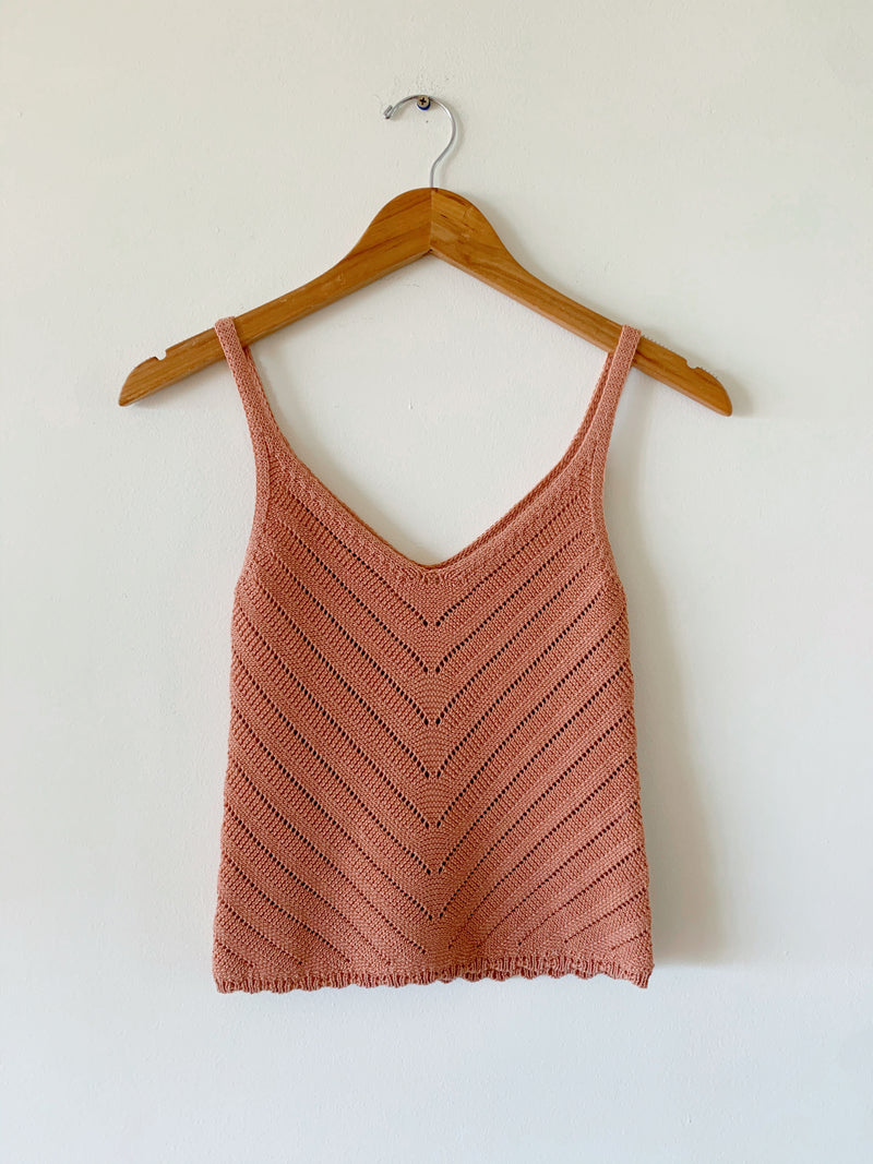 Chevron Knit Tank (5 colors)
