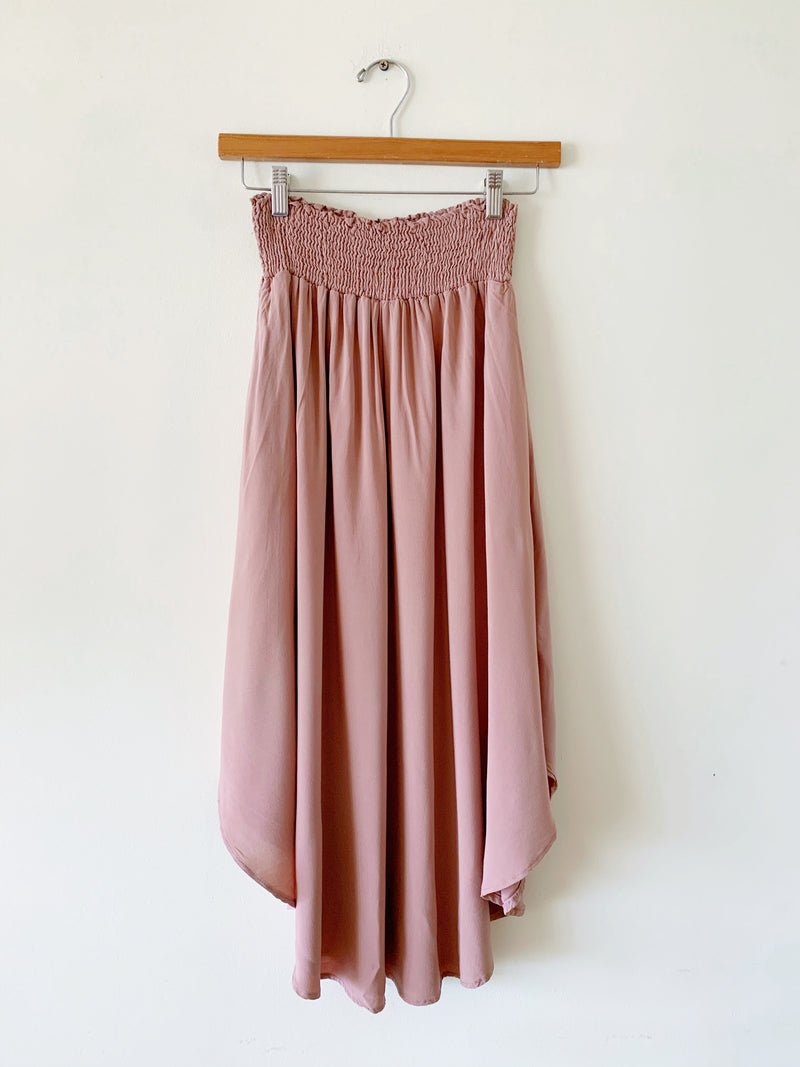 Solid Slub Skirt (3 colors)