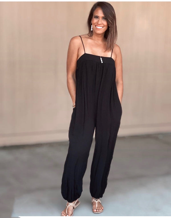 Slouchy Jumpsuit Solid (back in stock!)
