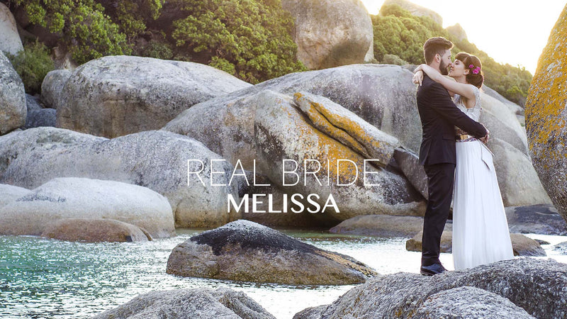 Real Bride - Melissa - Blackeyed Susan's Designer gets Married!