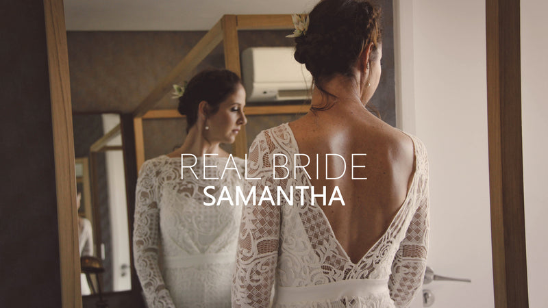 Real Bride - Samantha