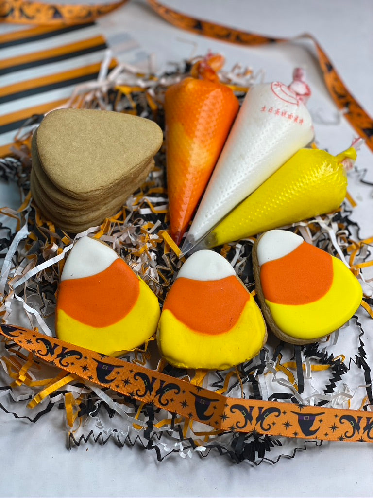DIY Candy Corn Sugar Cookie Kit