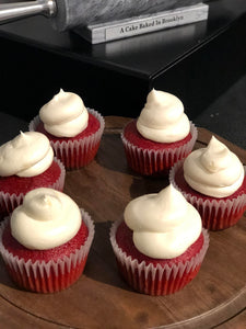 Red Velvet Cupcakes Half Of Dozen