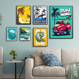 Affiche Surf - Hawaii