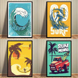 Affiche Surf - Surfing Competition