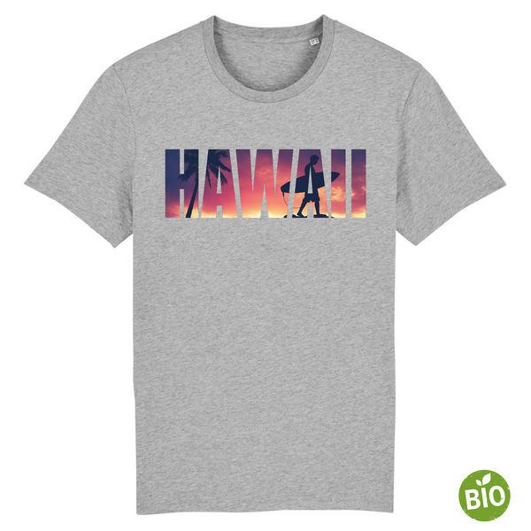 T-shirt Bio - Hawaii Surf