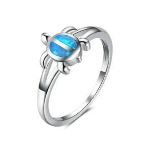Bague Surf - Tortue Turquoise
