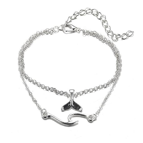 Bracelet Cheville Surf - Wave