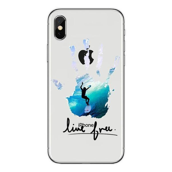 Coque Surf iPhone - Line Free