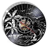 "Horloge Surf - ""Big Wave"" (avec LED)"