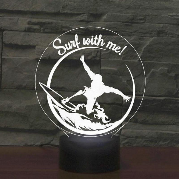 Lampe Surf With Me 3D