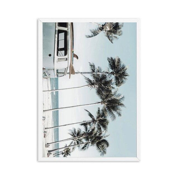 Poster Surf - Van Californien