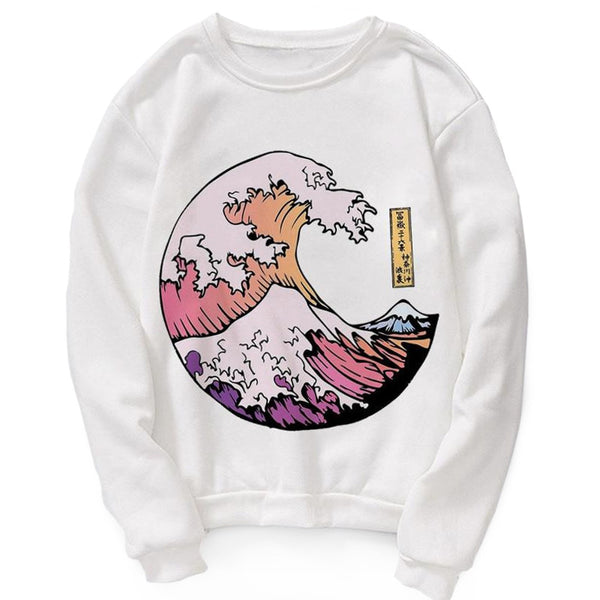 Sweat Surf - Vague de Kanagawa
