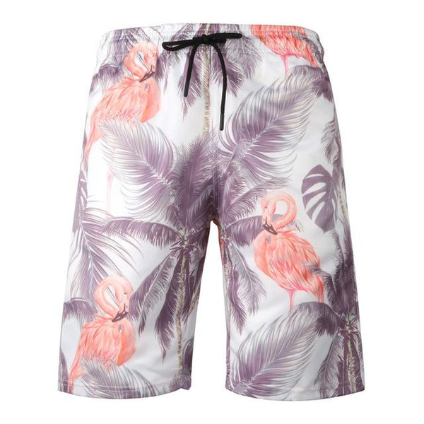 Short Flamant Rose Homme