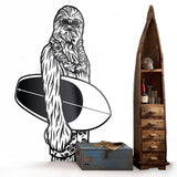 Sticker Chewbacca Surf