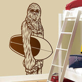 Sticker Surf Chambre - Chewbacca