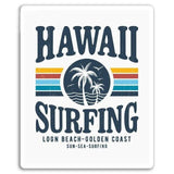 Sticker Hawaii Surfing