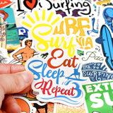 Sticker Surf - Pack de 50 PCS