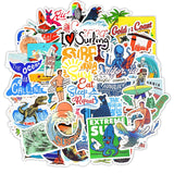 Stickers Surf 50 pcs