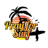Pray for Surf Sticker