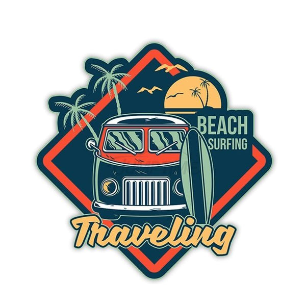 Sticker Surf Traveling