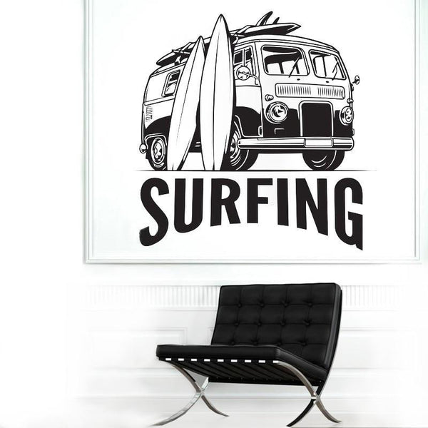 Sticker Surf Van