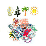 Stickers Surf - Exotique (50PCS)