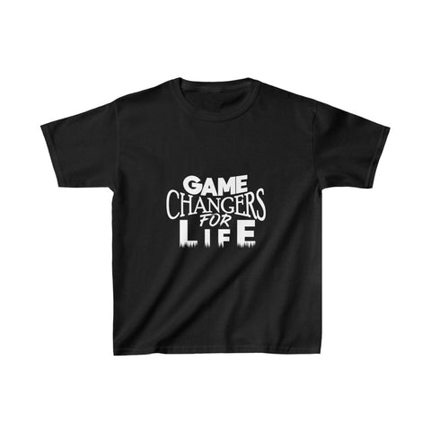 Game Changers Kids Shirt in Black