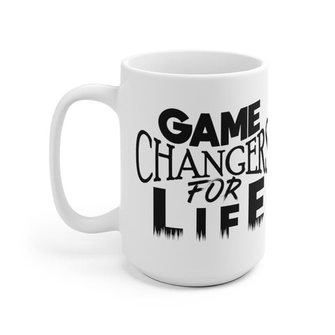 Game Changers White Ceramic Mug