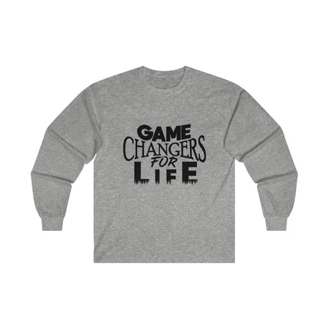 Game Changers Long Sleeve Shirt in Gray
