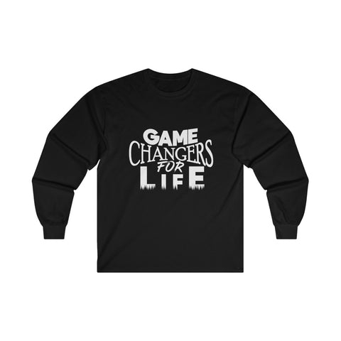 Game Changers Long Sleeve Shirt in Black