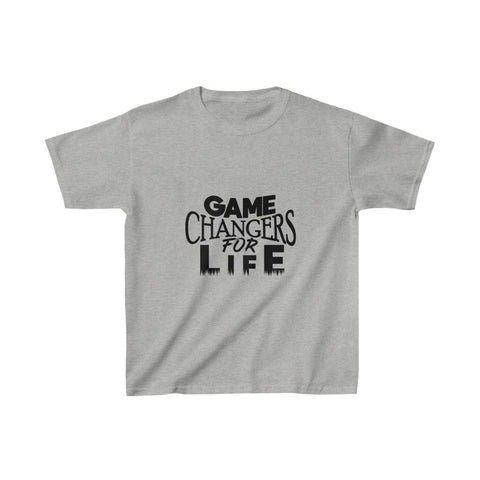 Game Changers Kids Shirt in Gray