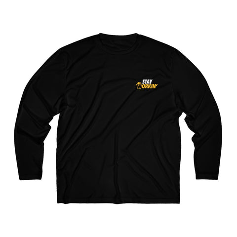 Stay Workin' Long Sleeve Moisture Absorbing Shirt