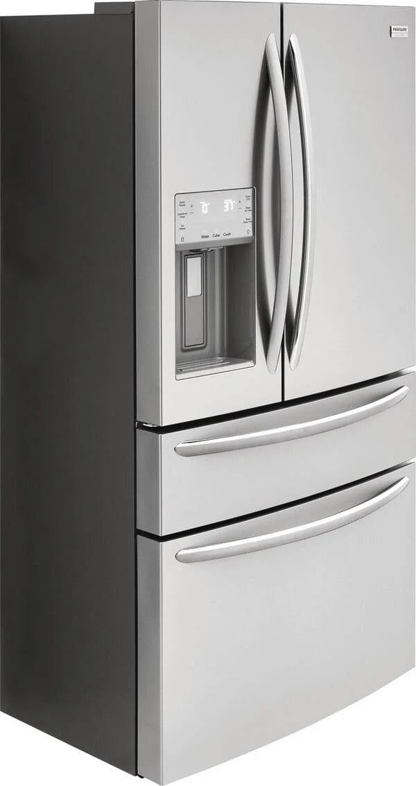 "Frigidaire Gallery 36"" 21.8 Cu.Ft Counter-Depth French Door Refrigerator-FG4H2272UF"