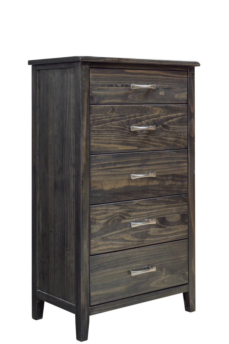 Mako Scarlet 5-Drawer Chest