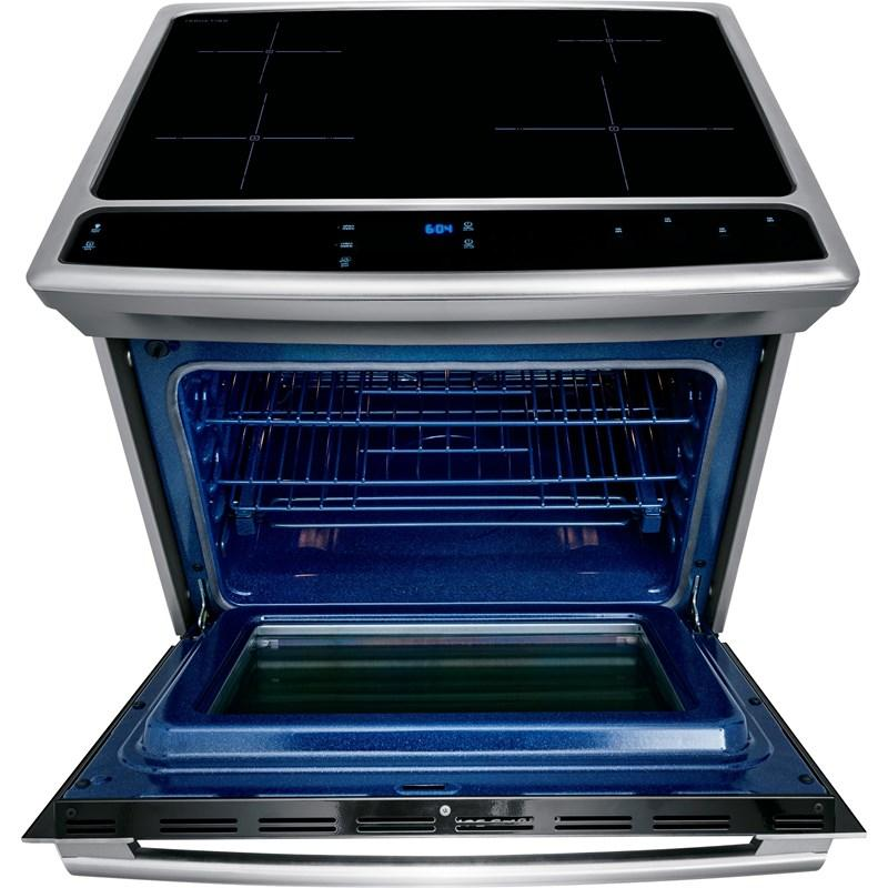 "Electrolux 30"" 4.6 cu. ft. Induction Built-In Range with Wave-Touch® Controls in Stainless Steel-EW30IS8CRS"
