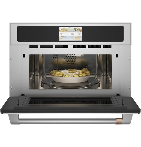 "Cafe 30"" Smart 5-in-1 Wall Oven with Advantiume Technology - CSB923P2NS1"