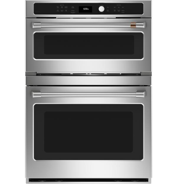 Cafe 6.7 Cu. Ft. Combination Double Wall Oven - CTC912P2NS1
