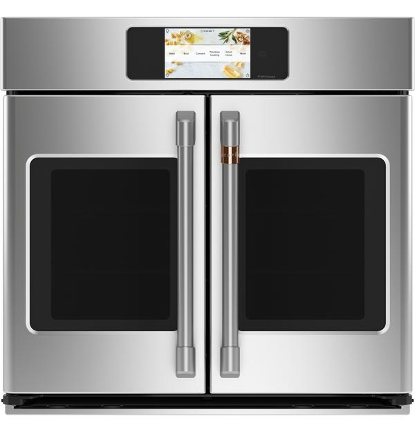 Cafe Professional Series 5.0 Cu. Ft. Smart French-Door Wall Oven - CTS90FP2NS1