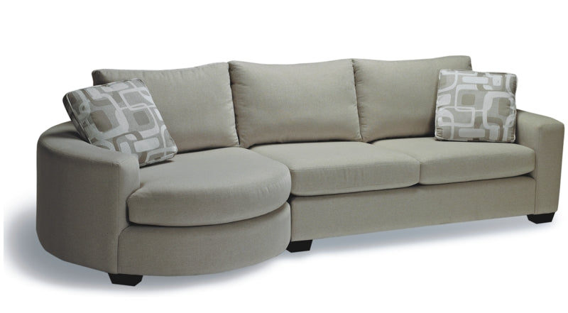 Cannon Fabric Sectional