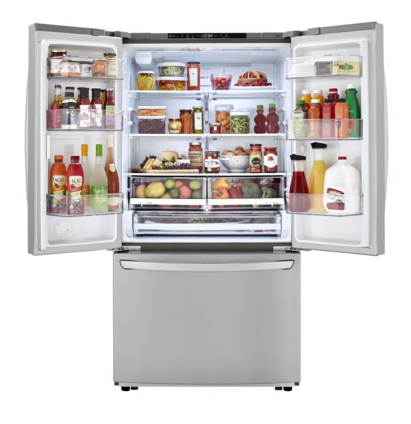 LG 35.8 Inch 22.8 cu. ft French Door Refrigerator in Stainless-LFCC22426S