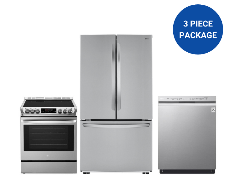 LG 3-Piece Super Savings Kitchen Appliance Package