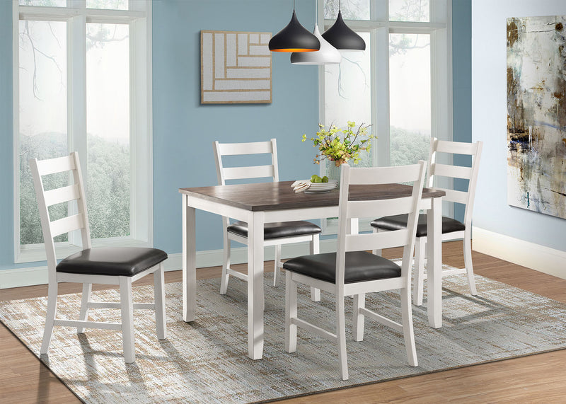 GSF 5pc Counter Height Dining Set