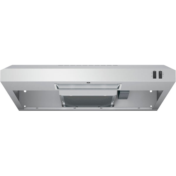 "GE Stainless Steel 30"" 200 CFM Under the Cabinet Range Hood"