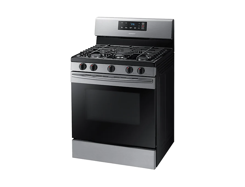 Samsung 30 5.8 Cu. Ft. 5-Burner Freestanding Gas Range-NX58M3310SS
